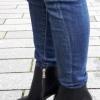 Zwarte korte dameslaarzen in kleine maten   Enkellaarzen 32 33 34 35