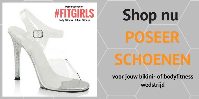 Poseerschoenen voor IFBB - bodyfitness - bikinifitness bij Silhouette Rotterdam