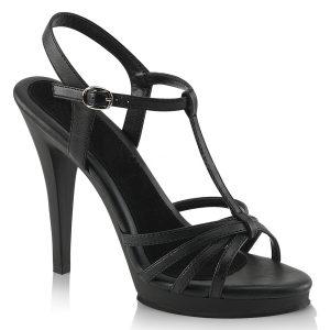 4385d9923843bc Zwarte Mary Jane sandalen met plateau en hoge hakken. € 59.95 · Fuchsia  sandalen maat 42 43 44 45 ...