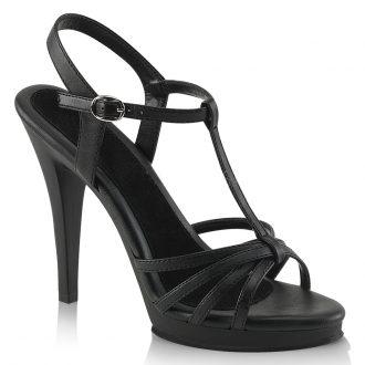Zwarte sandalen met hakken maat 35 36 37 38 39 40 41 42 43 44 45 46