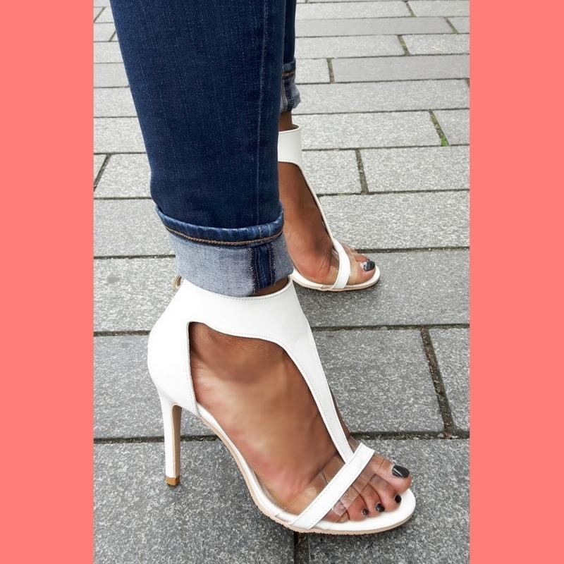 open witte schoenen