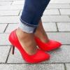 Rode hoge hakken in maat 31 32 33 34 35 | SILHOUETTE | Rotterdam