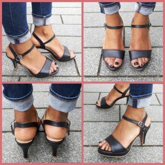 Open schoenen in kleine maten met naaldhak   SILHOUETTE