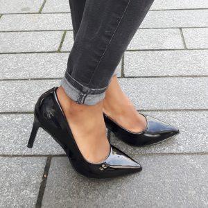 Comfortabele zwarte hoge hakken | achteraf betalen Afterpay | Silhouette