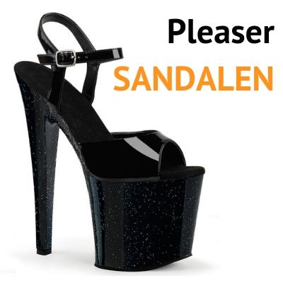 Pleaser Sandalen op voorraad bij Silhouette