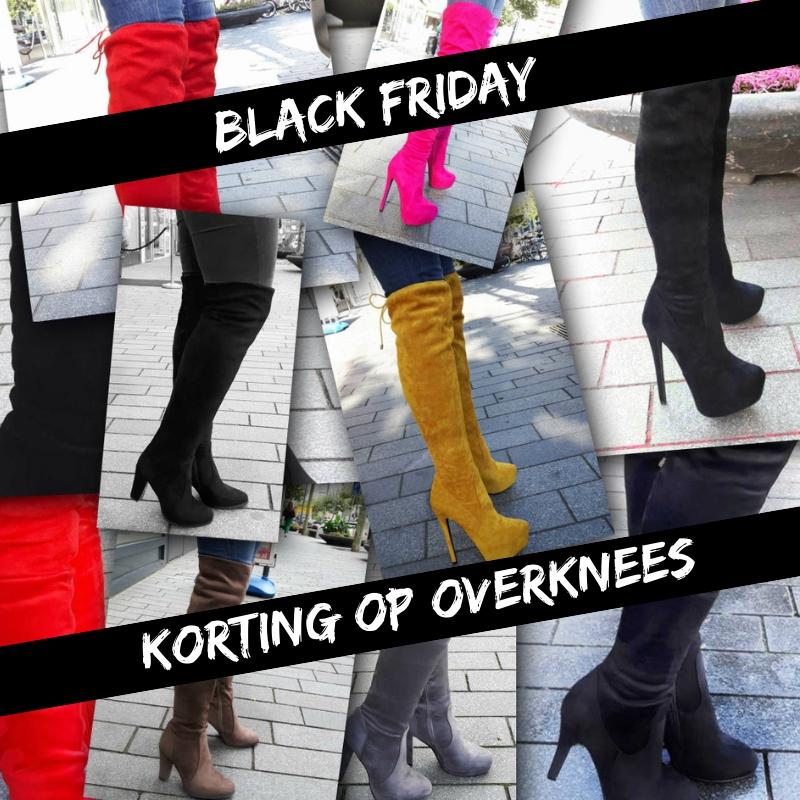 Black Friday Korting op overknee boots bij Silhouette