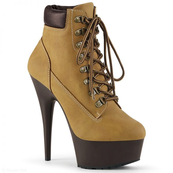 Look a like Timberland boots met hak | Pleaser Timberland laarzen