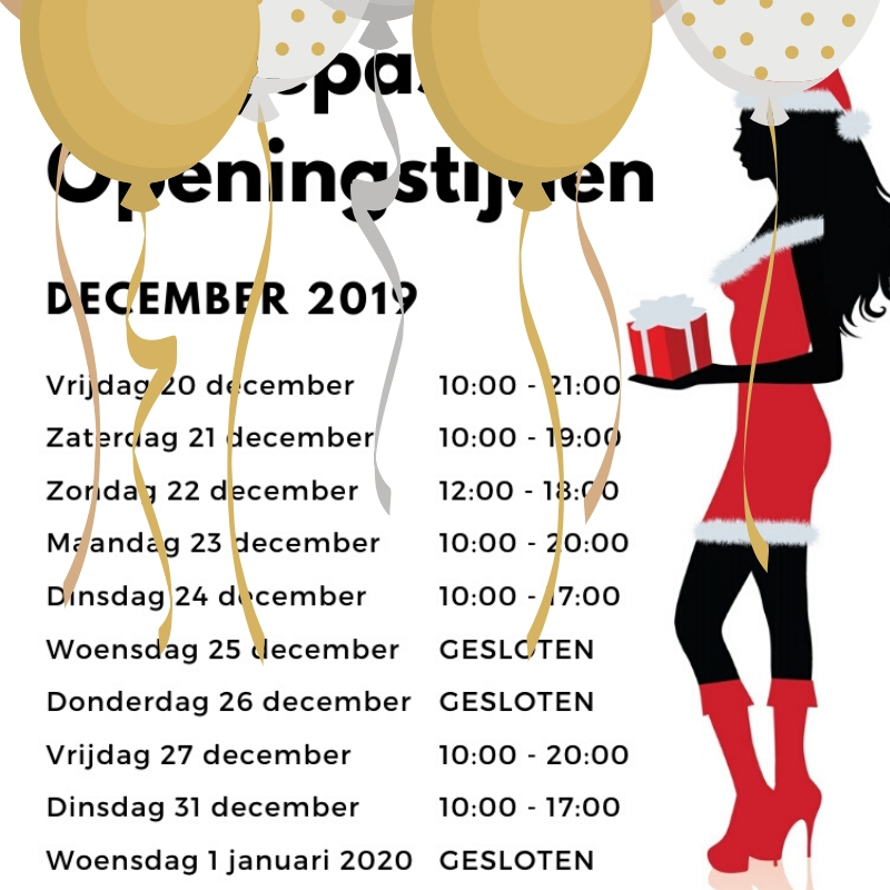 Openingstijden Silhouette Rotterdam Kerst Oud en Nieuw 2019