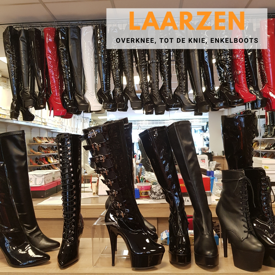 Hoge laarzen enkellaarzen overkneelaarzen kopen bij Silhouette Rotterdam