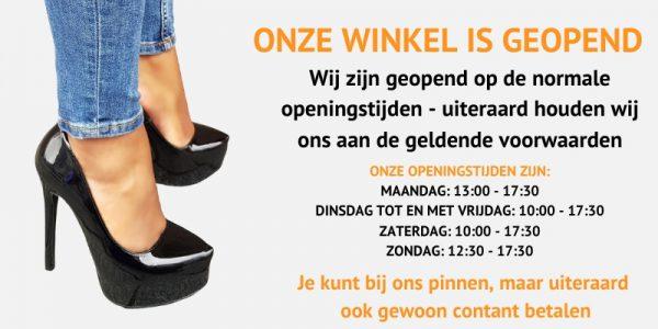 Silhouette Schoenen Rotterdam openingstijden Corona mei 2020 (2)