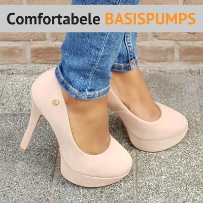Comfortabele basispumps