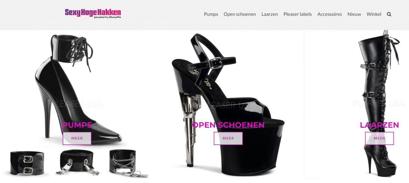 SexyHogeHakken.nl het zusje van Silhouette