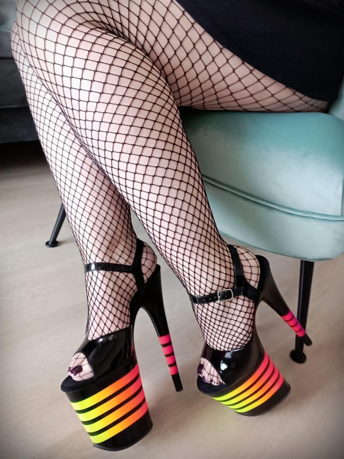 Regenboog sandaal