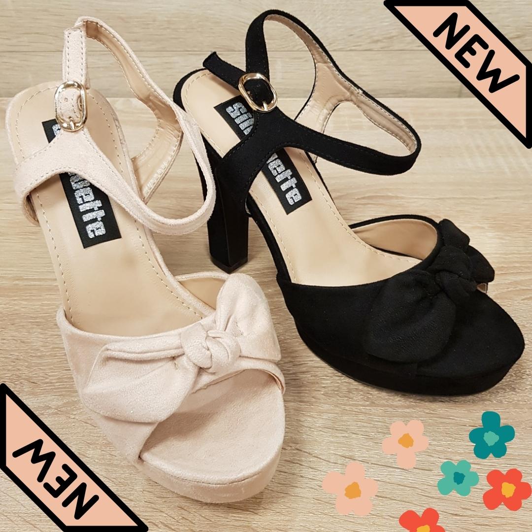 Sandalen met strik voor